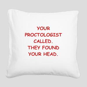 HEAD Square Canvas Pillow
