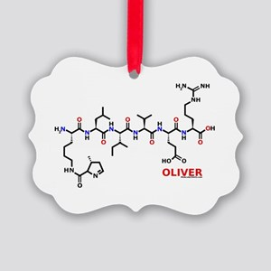 Oliver molecularshirts.com Picture Ornament