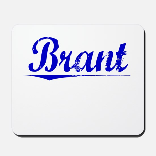 Brant Blue Aged Mousepad