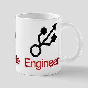 Male Female Engineer Mug