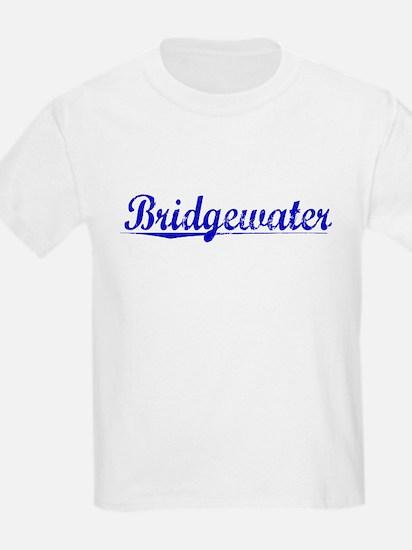 Bridgewater, Blue, Aged T-Shirt
