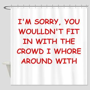 Misfits Shower Curtains