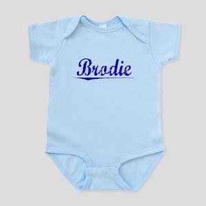 Brodie, Blue, Aged Infant Bodysuit