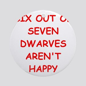 DWARVES Ornament (Round)