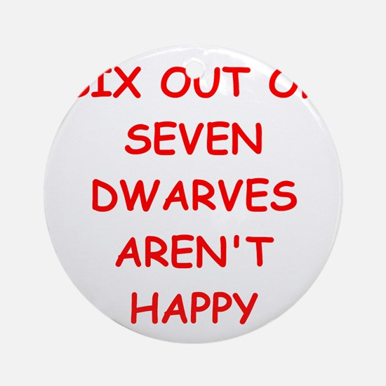 DWARVES.png Ornament (Round)
