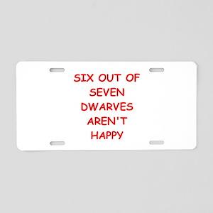 DWARVES Aluminum License Plate