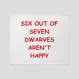 DWARVES Throw Blanket