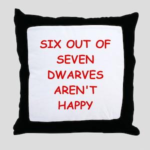 DWARVES Throw Pillow
