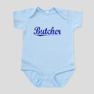Butcher, Blue, Aged Infant Bodysuit
