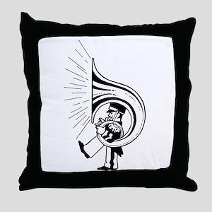 TubaGuy Throw Pillow