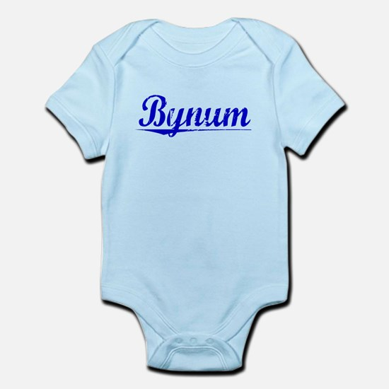 Bynum, Blue, Aged Infant Bodysuit