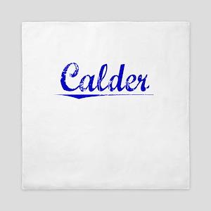 Calder, Blue, Aged Queen Duvet