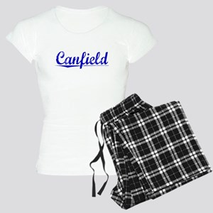 Canfield, Blue, Aged Women's Light Pajamas