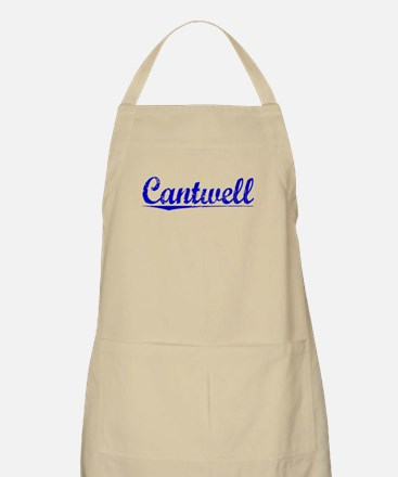 Cantwell, Blue, Aged Apron