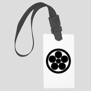 hoshi ume-bachi in circle Large Luggage Tag