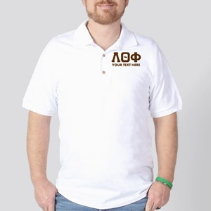 Lambda Theta Phi Letters Personalized Golf Shirt