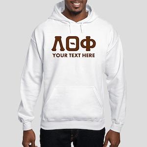 Lambda Theta Phi Letters Persona Hooded Sweatshirt