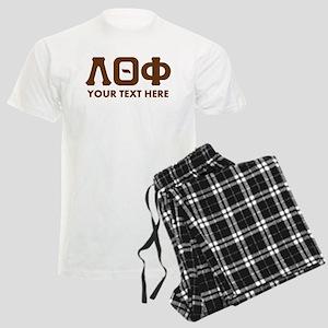 Lambda Theta Phi Letters Pers Men's Light Pajamas