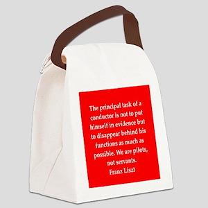 liszt`27 Canvas Lunch Bag
