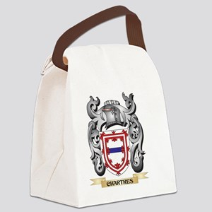Chartres Family Crest - Chartres Canvas Lunch Bag