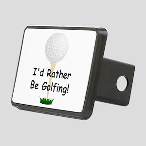 golfball large Id rather be golfing Rectangula