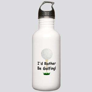 golfball large Id rather be golfing Stainless