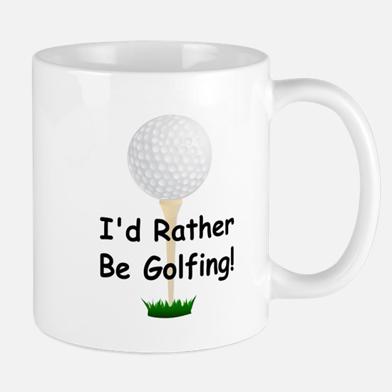 golfball large Id rather be golfing.png Mug