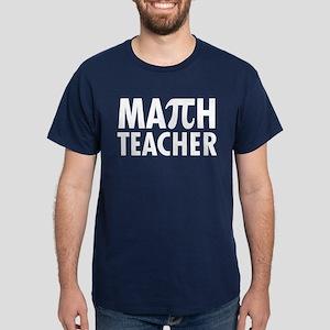 Math Teacher Dark T-Shirt