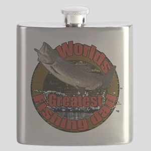 Greatest fishing dad 2 Flask