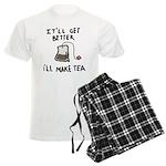 Ill Make Tea Men's Light Pajamas