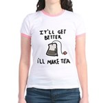 Ill Make Tea Jr. Ringer T-Shirt