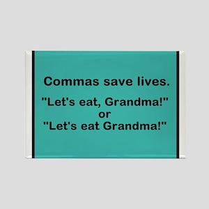 Commas Magnets
