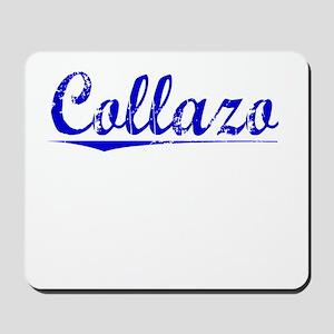 Collazo, Blue, Aged Mousepad