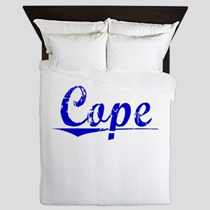 Cope, Blue, Aged Queen Duvet