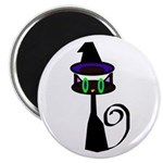 Witchy little cat Magnet