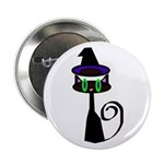 """Witchy little cat 2.25"""" Button"""