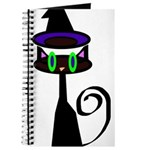 Witchy little cat Journal