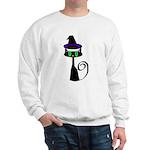 Witchy little cat Sweatshirt