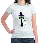 Witchy little cat Jr. Ringer T-Shirt