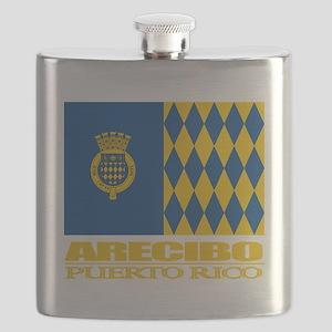 Arecibo Flag Flask