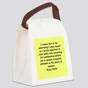 cantor4 Canvas Lunch Bag