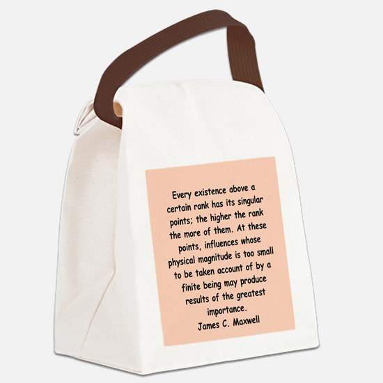 maxwell2.png Canvas Lunch Bag