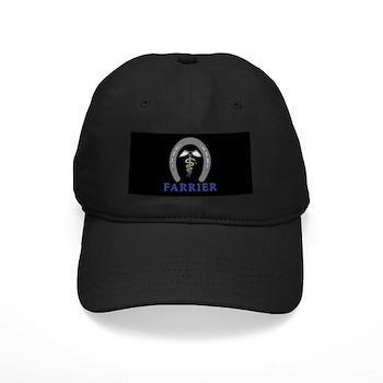 Black Farrier's Cap