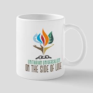 UU On the Side of Love Mug