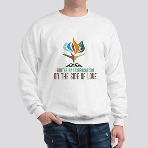UU On the Side of Love Sweatshirt