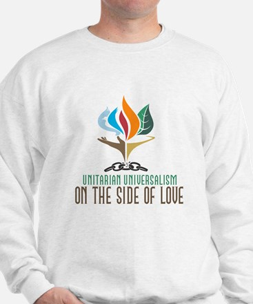 UU On the Side of Love Sweatshirt