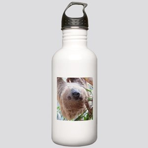 cute sloth in the tree Stainless Water Bottle 1.0L