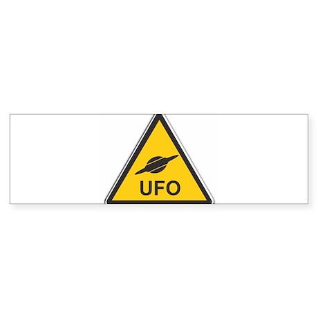 UFO Sticker (Bumper)
