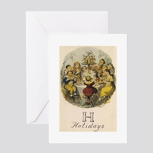 H is for Holidays Greeting Card
