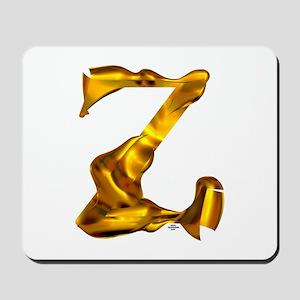 Blown Gold Z Mousepad